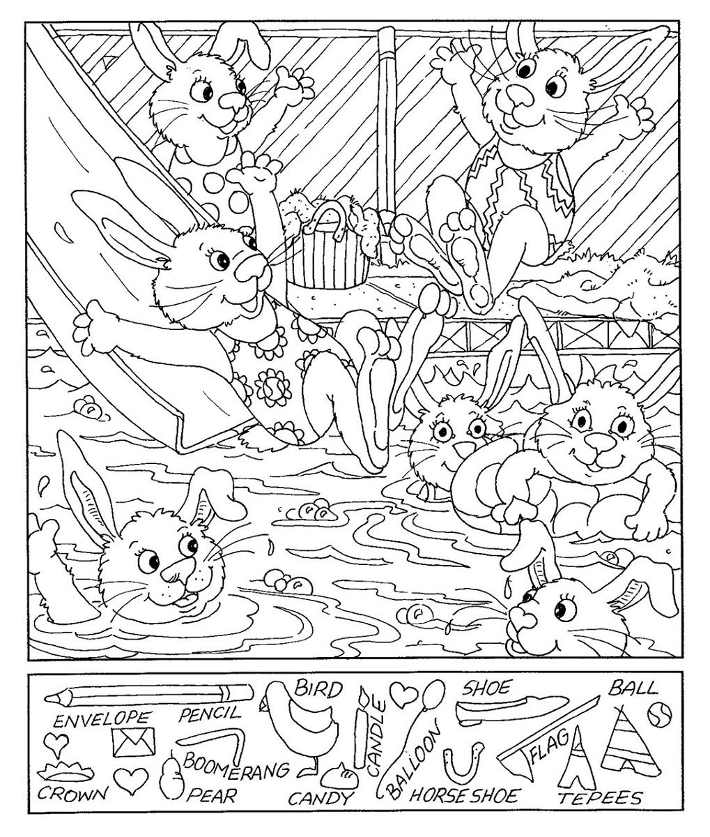 Hidden Picture Worksheet Free Worksheets Library | Download And - Free Printable Hidden Object Games