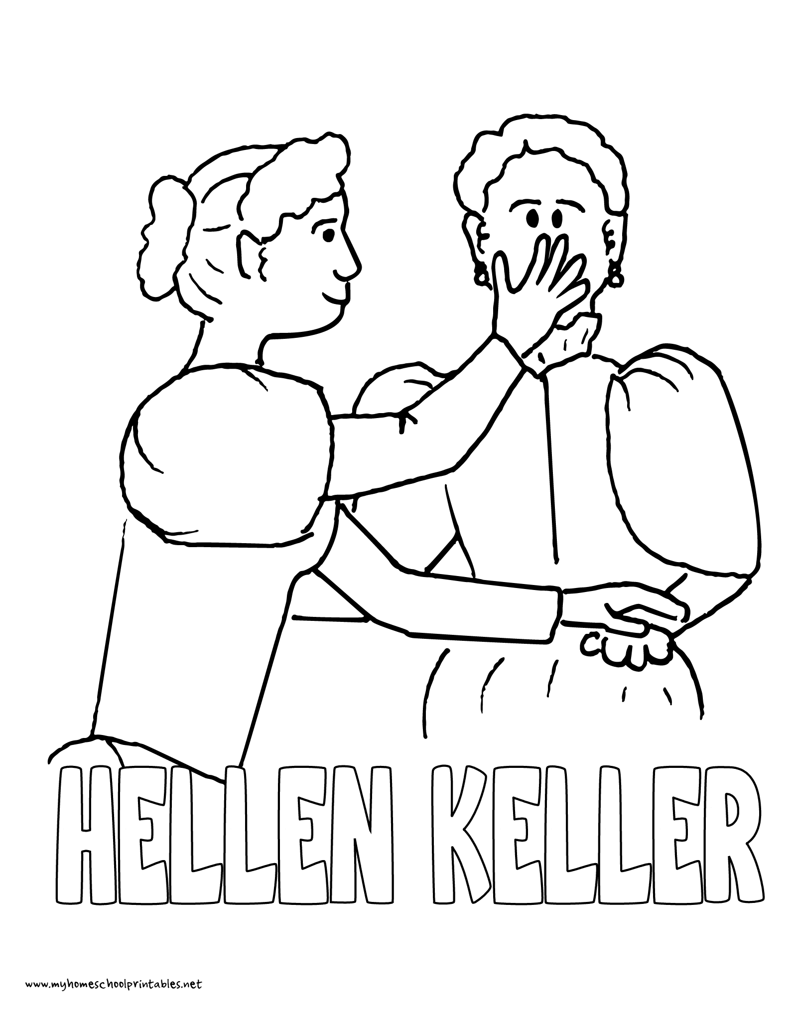 History Coloring Pages – Volume 4 | Mystery Of History 4 | Mystery - Free Printable Pictures Of Helen Keller