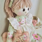 Holly Rag Doll Pattern   Pdf   Free Printable Rag Doll Patterns