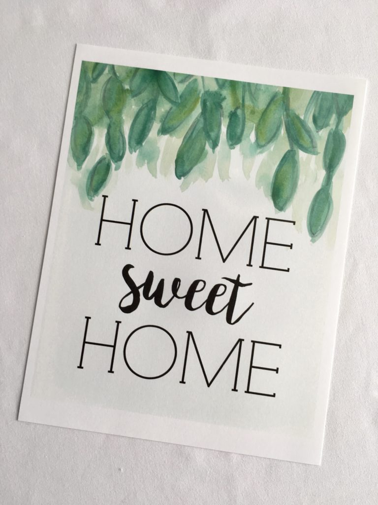 Home Sweet Home - Free Printable! - Miss Homebody - Home Sweet Home Free Printable