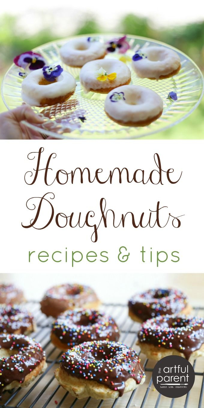 Homemade Doughnuts - A Free Eguide With Recipes & Tips | Recipes And - Free Printable Dessert Recipes