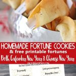 Homemade Fortune Cookies & Free Printable Fortunes To Help You Ring   Free Printable Dessert Recipes