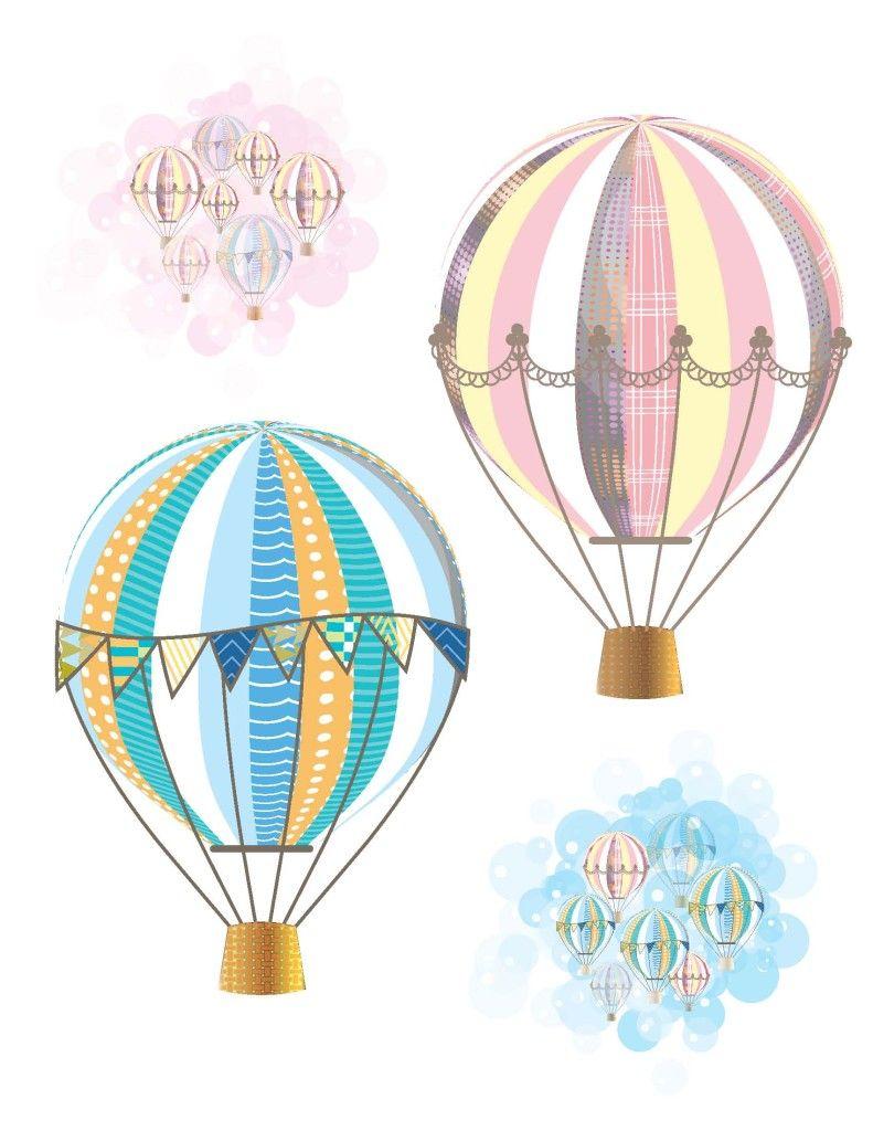 Hot Air Balloon Party Free Printables   Hot Air Balloon Party - Free Printable Pictures Of Balloons