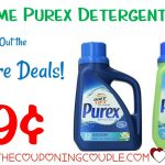 Hot** Purex Detergent Coupon + Drugstore Deals = $0.99 Each!   Free Printable Purex Detergent Coupons