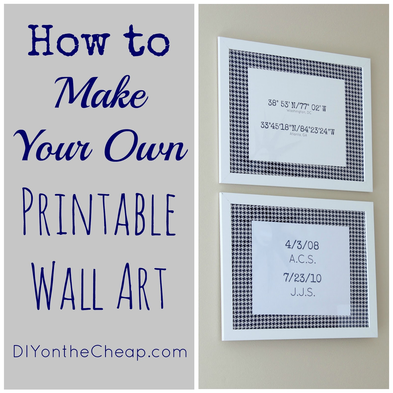 How To Make Your Own Printable Wall Art - Erin Spain - Free Printable Wall Art For Bathroom