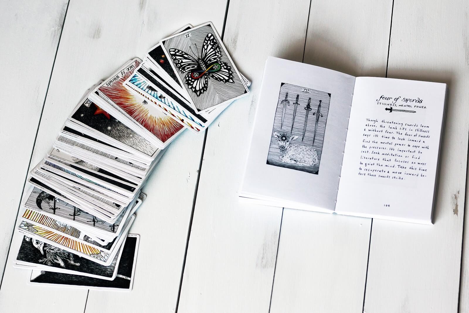 How To Read Tarot Cards For Beginners   Biddytarot Blog - Printable Tarot Cards Pdf Free