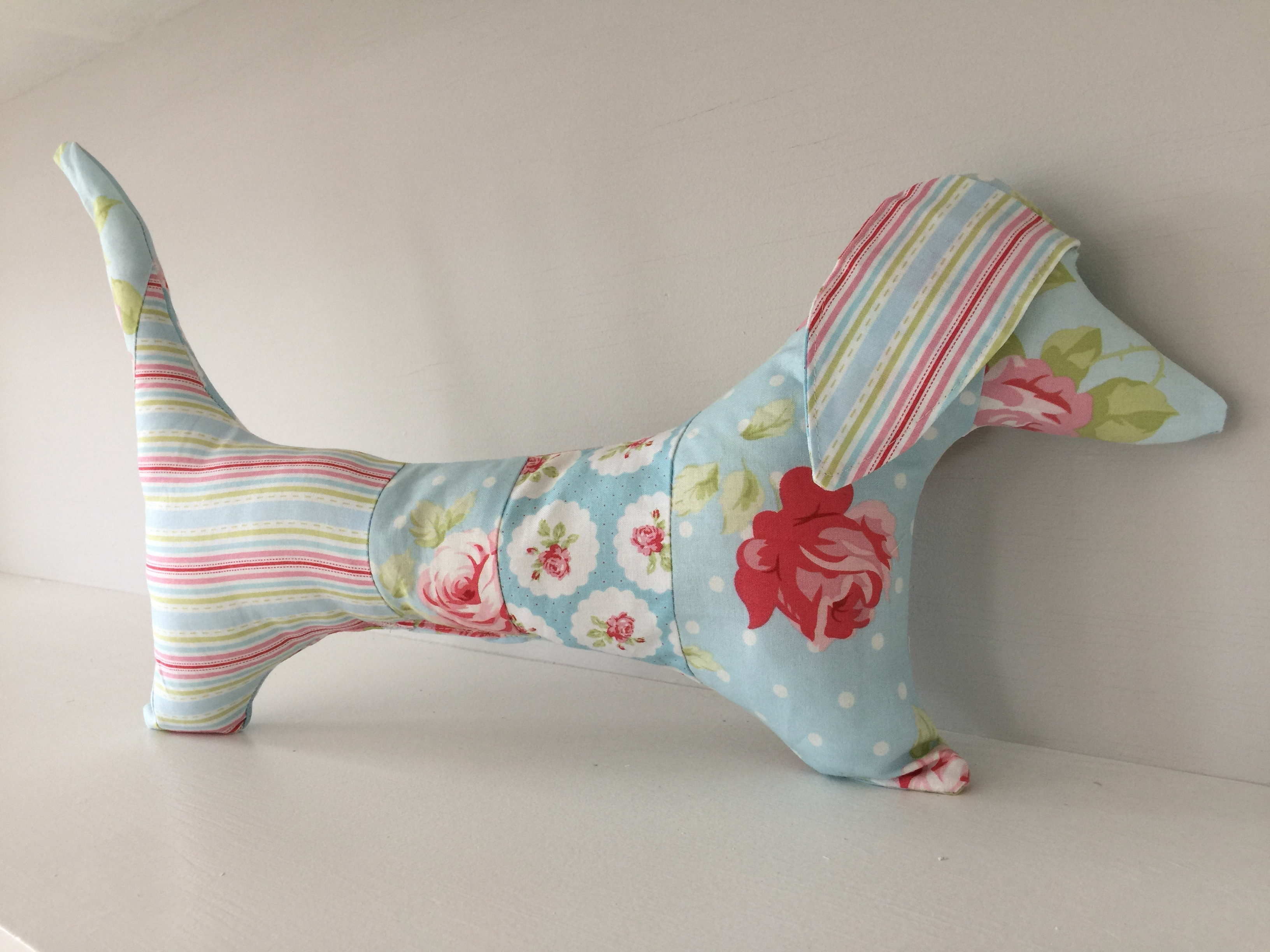 How To Sew A Stuffed Dachshund Dog With Free Pattern – Sewspire - Free Printable Dachshund Sewing Pattern