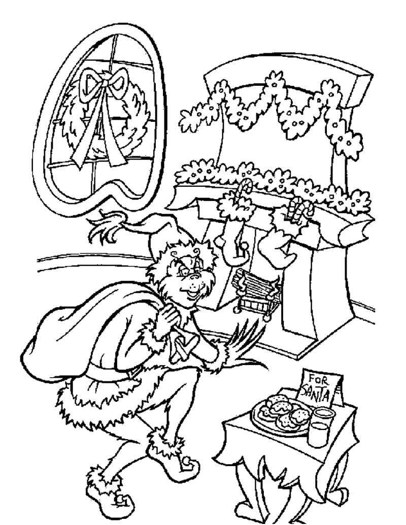 Hundreds Of Free Printable Xmas Coloring Pages And Xmas Activity - Free Printable Christmas Cartoon Coloring Pages