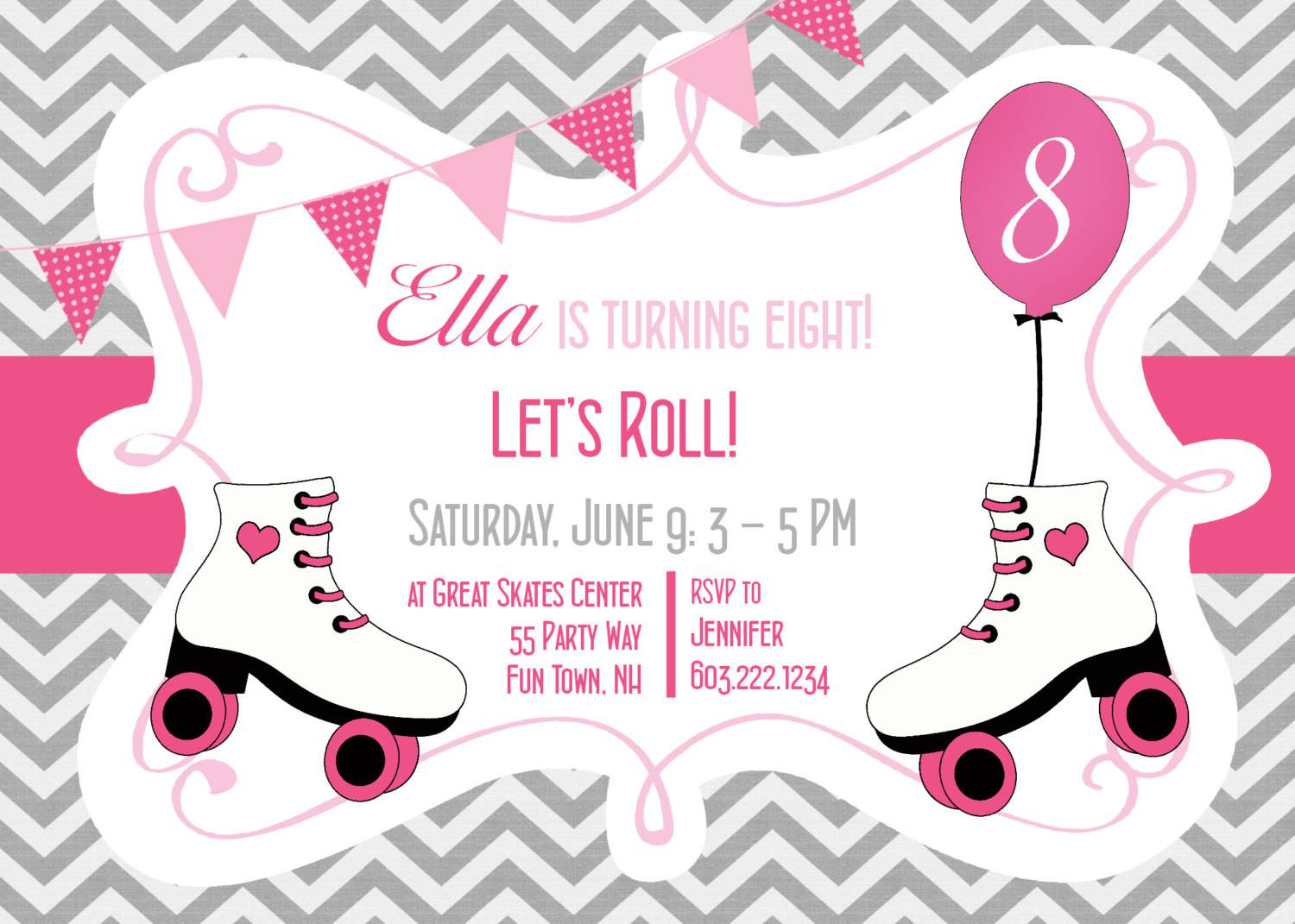 Ice Skating Party Invitations Free Printable Trend Skate Party - Free Printable Skating Invitations