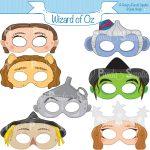 Image Result For Flying Monkeys Images   Oz   Monkey Mask, Wizard Of   Free Printable Wizard Of Oz Masks