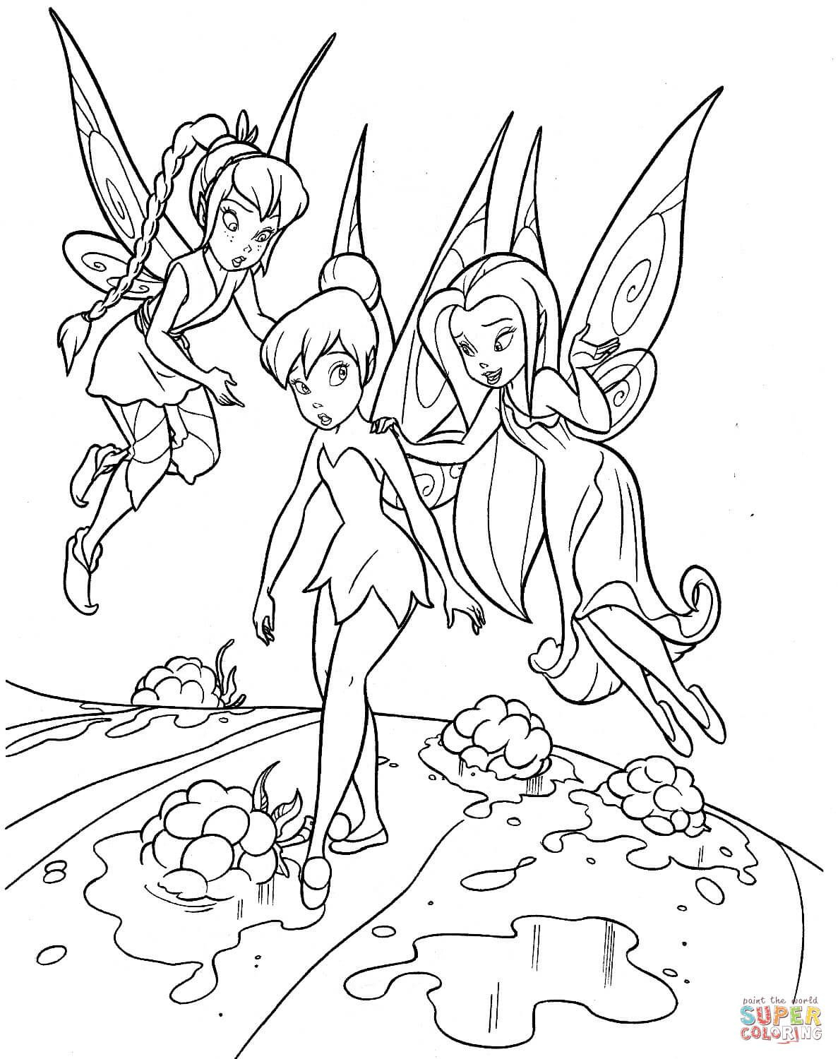 Image Result For Free Colouring Pages Disney | A Few Colouring - Tinkerbell Coloring Pages Printable Free