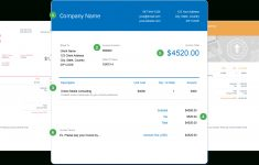 Invoice Template | Send In Minutes | Create Free Invoices Instantly – Free Invoices Online Printable