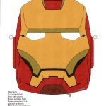 Iron Man [Resolved] — Make The Cut! Forum   Free Printable Ironman Mask