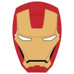Ironman Mask Template | Free Printable Papercraft Templates   Free Printable Ironman Mask