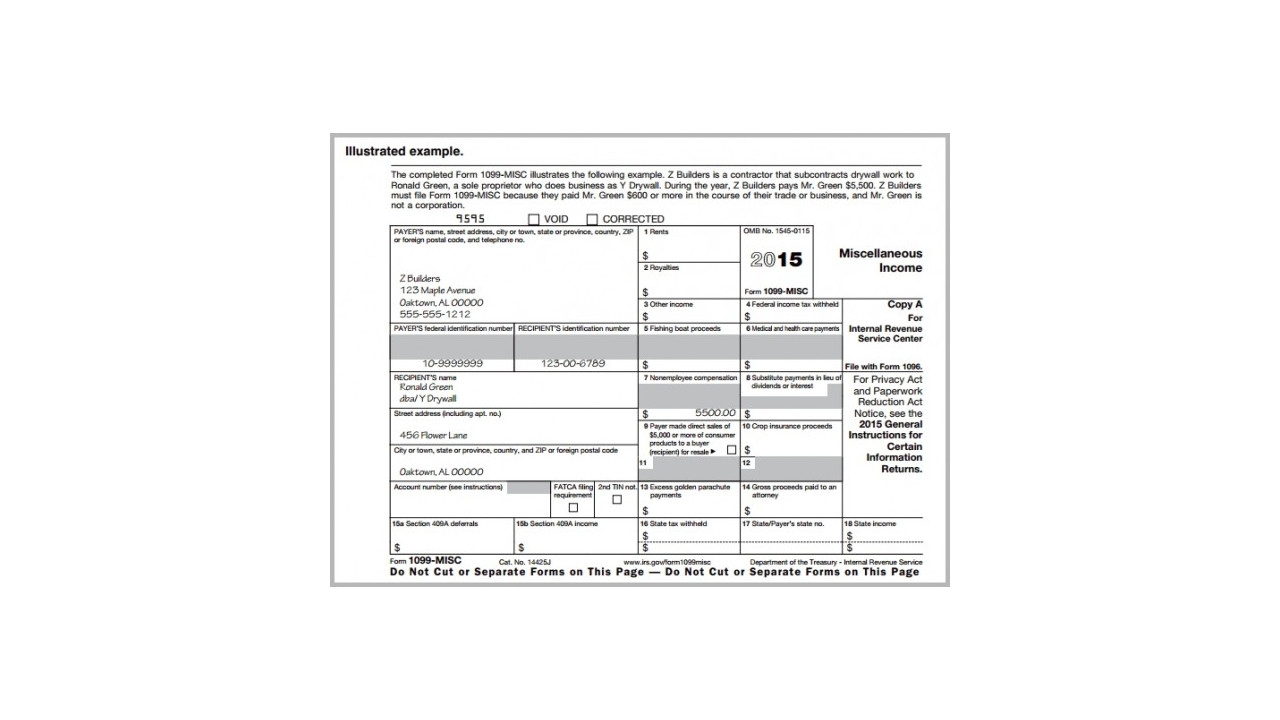 Irs 1099 Form 2014 Printable Free   Papers And Forms - Free Printable 1099 Form 2016