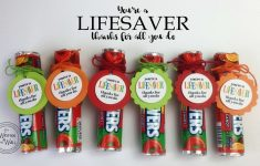 It's Written On The Wall: You're A Lifesaver—Thanks For All You Do – Free Printable Lifesaver Tags