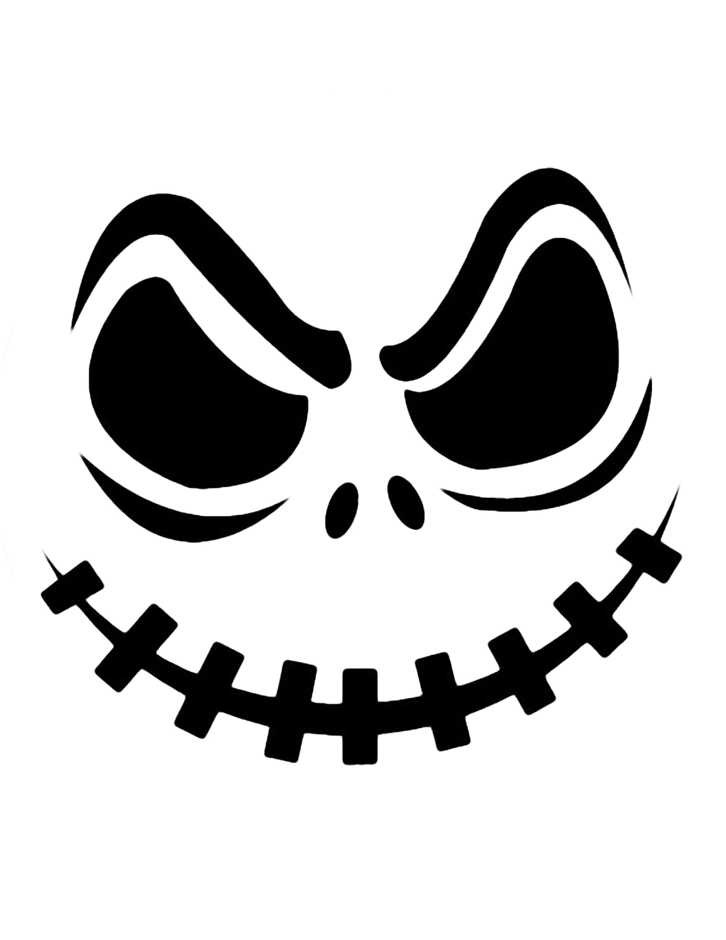Jack Skellington Pumpkin | Cricut Cutter Ideas | Halloween Pumpkin - Halloween Pumpkin Carving Stencils Free Printable
