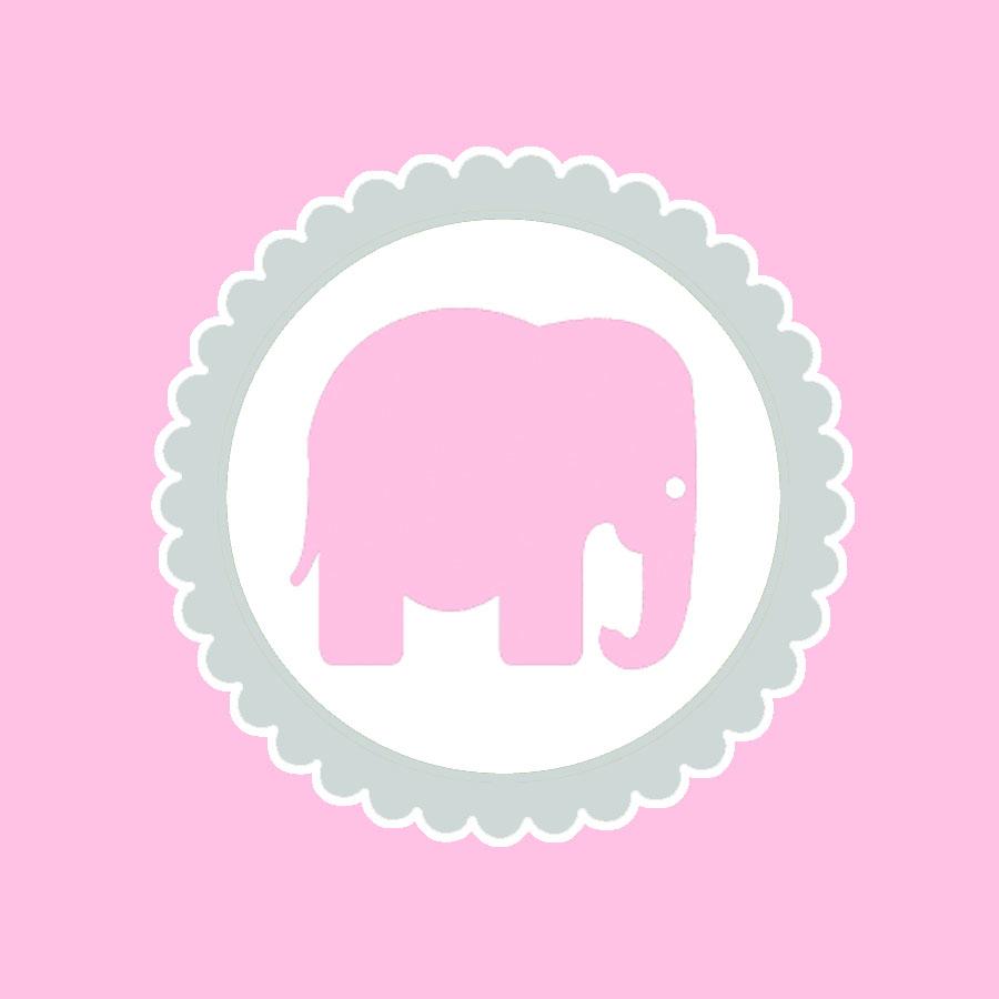 Juneberry Lane: Strawberry Cupcakes & A Free Pink Elephant Printable - Free Printable Elephant Images