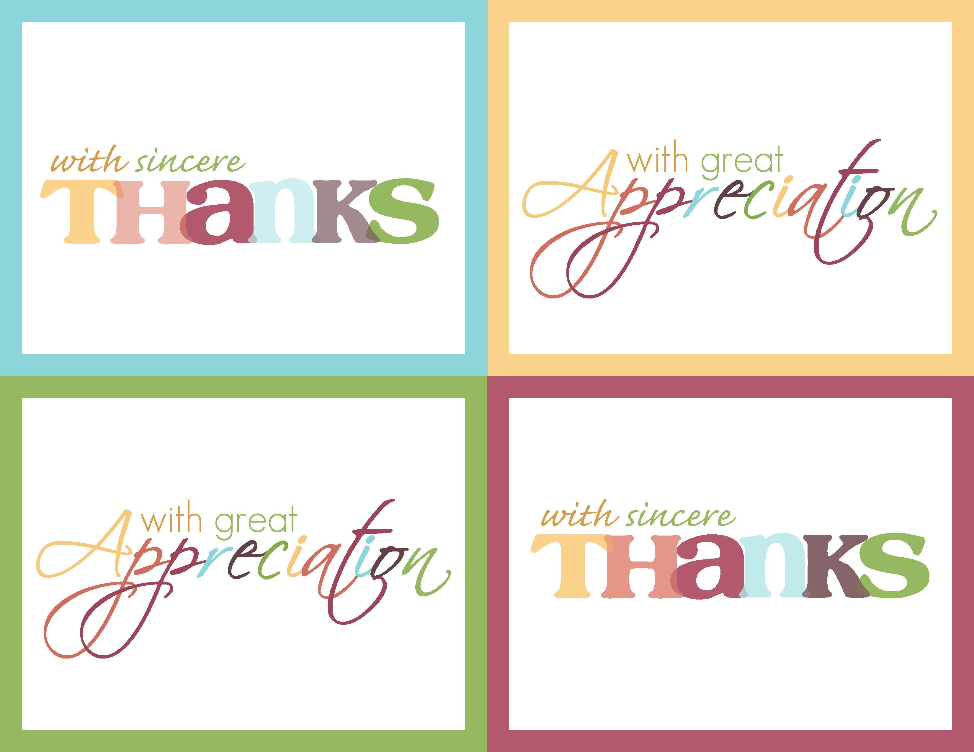Just In Time For Thanksgiving! Get Your {Free} Thank-You Cards - Free Personalized Thank You Cards Printable