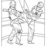 Karate Coloring Pages For Kids | Coloring Pages | Pinterest | Karate   Free Printable Karate Coloring Pages