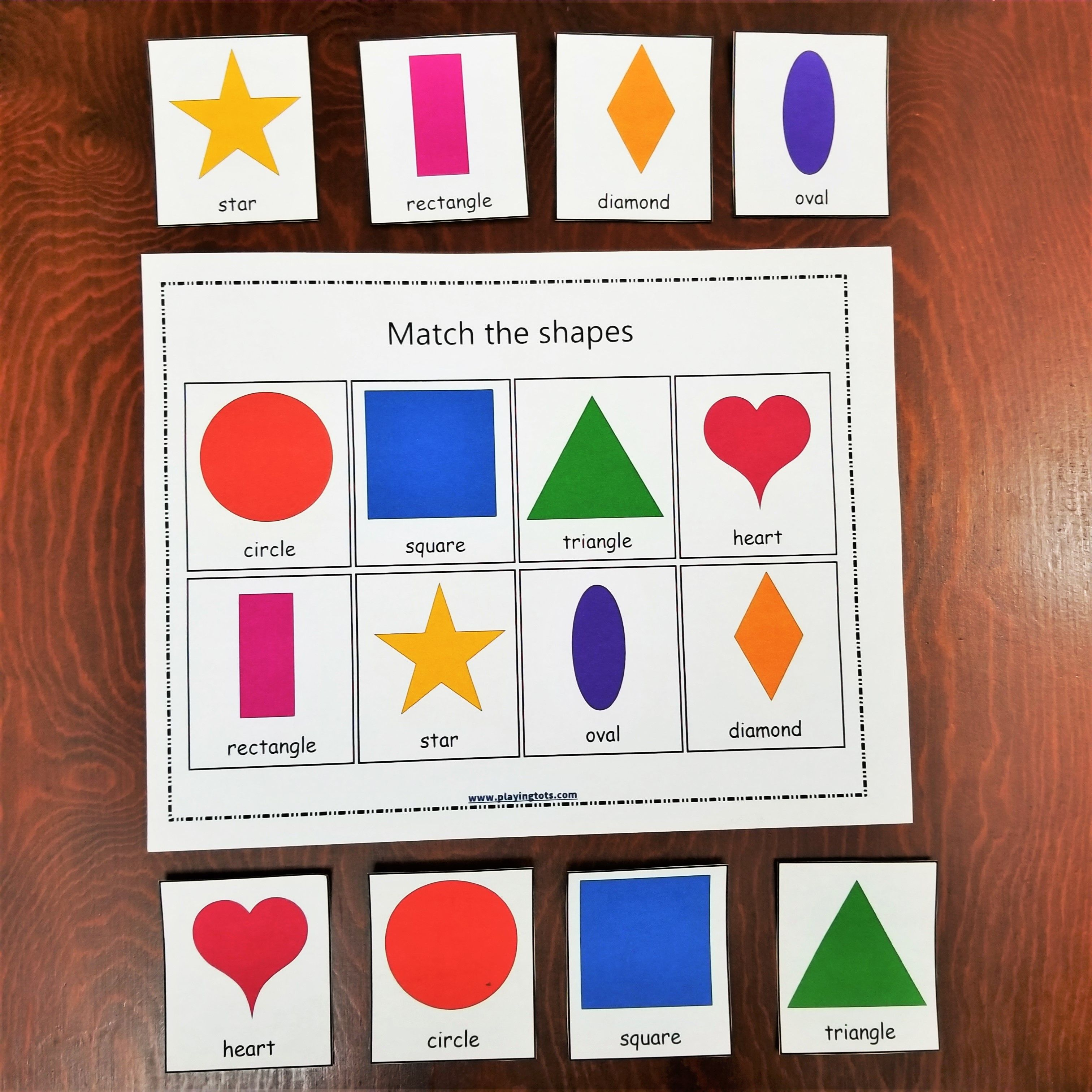 Keywords: Matching,activities,shapes,toddler,free,printable - Free Printable File Folders For Preschoolers