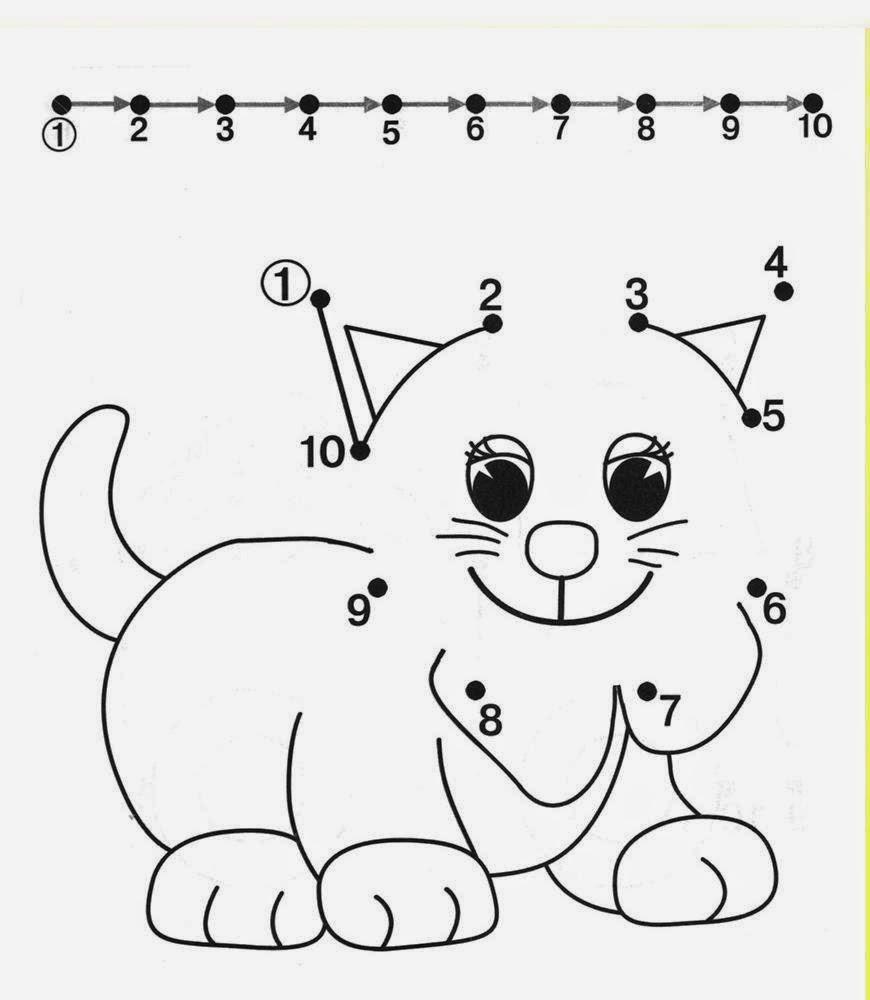 Kids Under 7: Free Dot To Dot Worksheets For Kids. Part 2 - Free Printable Alphabet Dot To Dot Worksheets