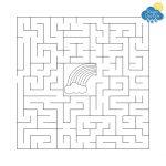 Kids Weather Free Printables   Rainy Day Box   Free Printable Mazes