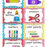Kinder Alphabet: Cvcc Clip Art And Word Work Freebies | Classroom   Preschool Classroom Helper Labels Free Printable