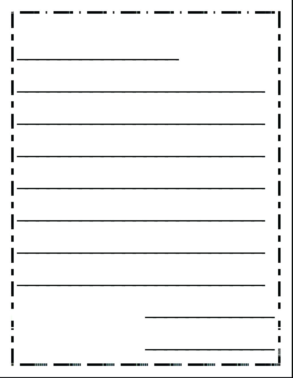 Kinder Writing Paper Kinder Handwriting Paper Grade Handwriting - Free Printable Writing Paper With Picture Box