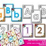 Kindergarten Alphabet Cards   Free Printable Alphabet Mini Flash   Free Printable Abc Flashcards With Pictures
