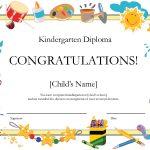 Kindergarten Graduation Certificate | Free Printable Kindergarten   Free Printable Children's Certificates Templates