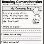 Kindergarten Reading Comprehension Worksheets Multiple Cho   Free Printable Reading Comprehension Worksheets For Kindergarten