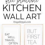 Kitchen Gallery Wall Printables | Free Printable Wall Art   Free Printable Wall Art Decor