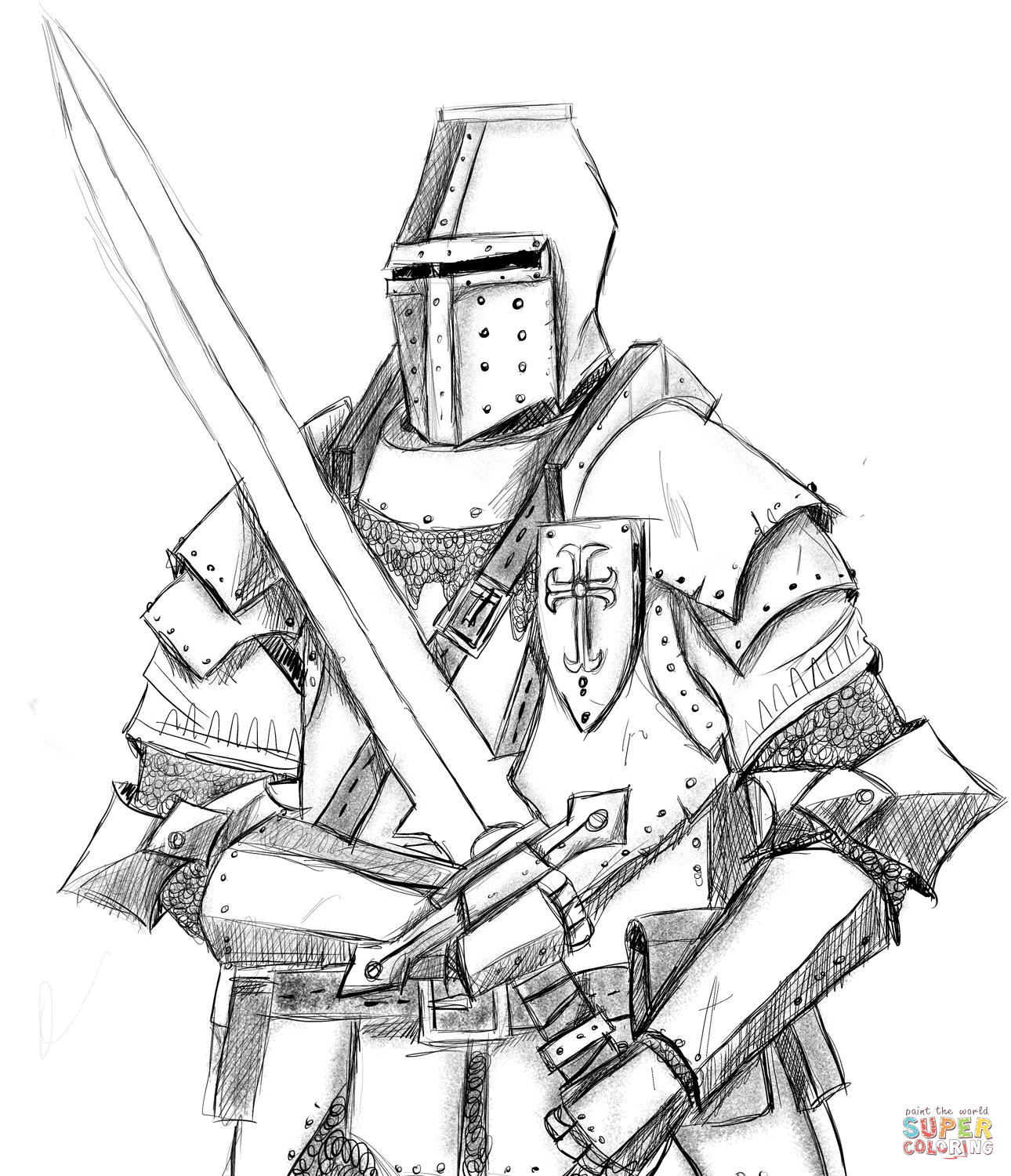 Knight Coloring Page | Free Printable Coloring Pages - Free Printable Pictures Of Knights