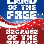 Land Of The Free Because Of The Brave   The Abduction Of Wendy   Home Of The Free Because Of The Brave Printable