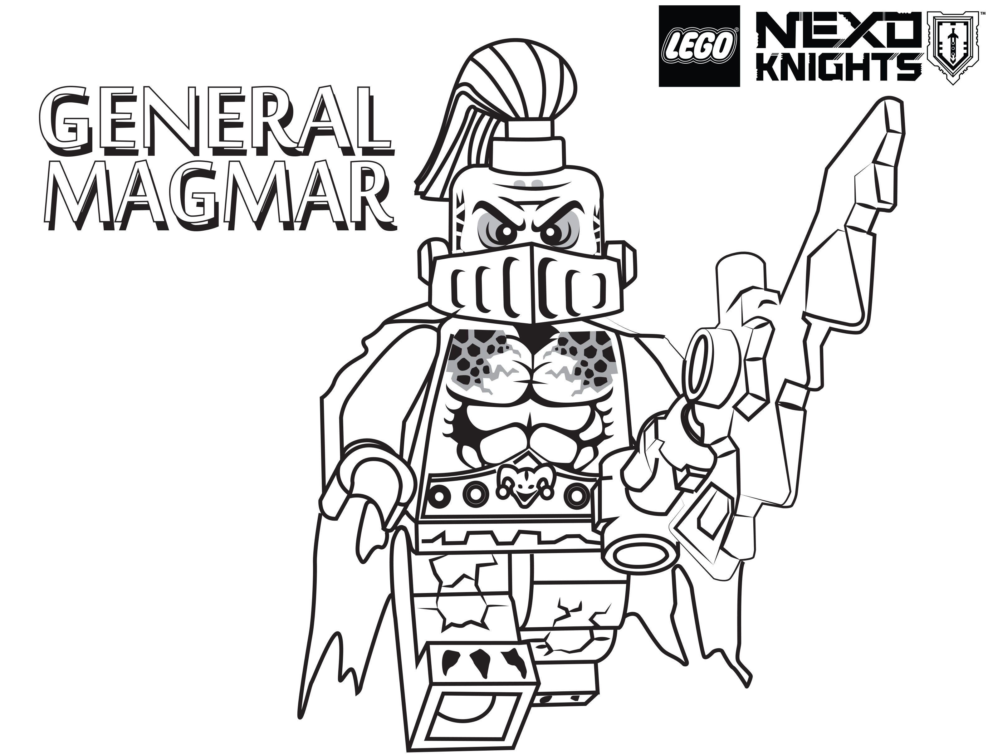 Lego Nexo Knights Coloring Pages : Free Printable Lego Nexo - Free Printable Pictures Of Knights