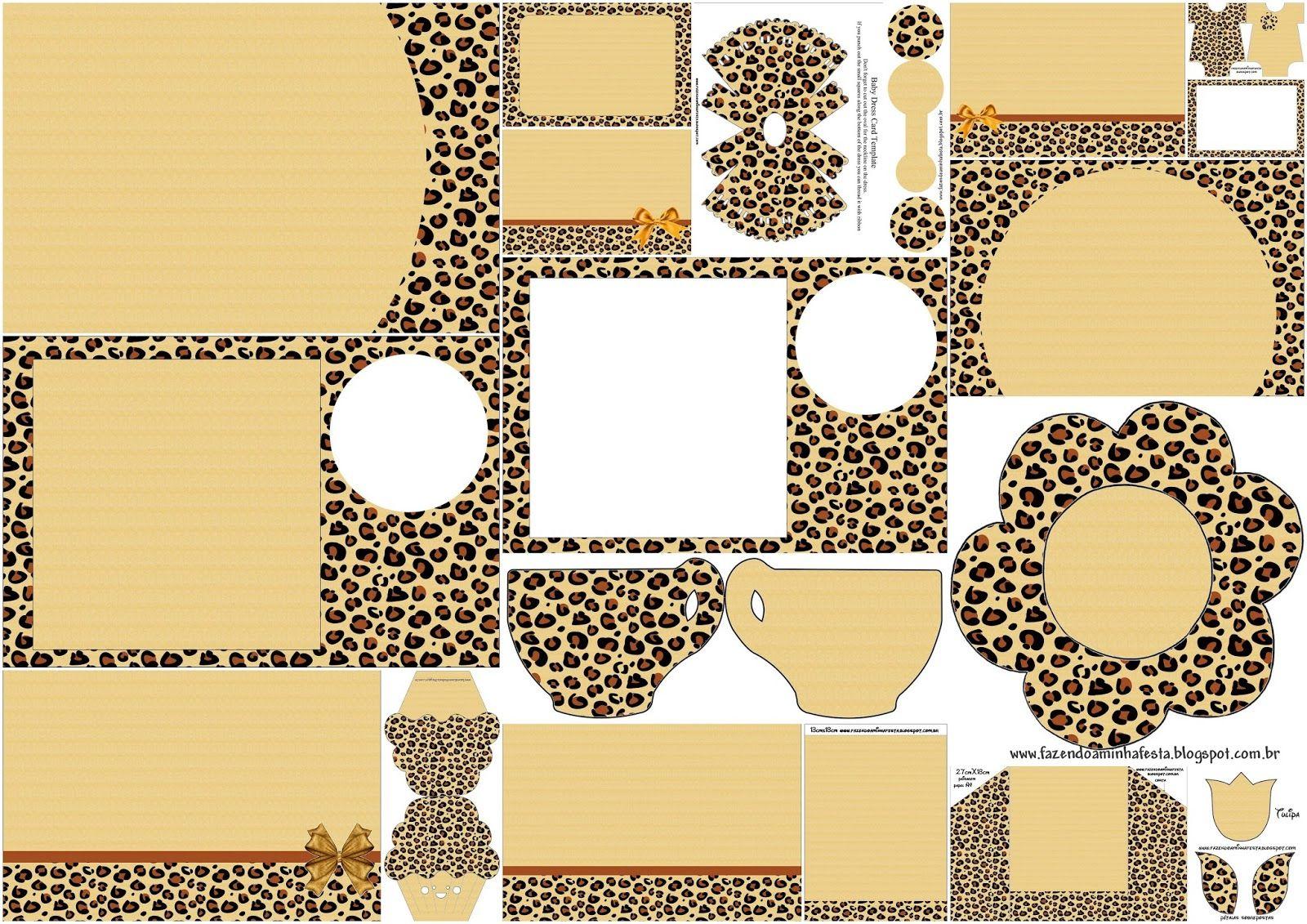 Leopard Prints: Free Printable Invitation.   Party   Pinterest - Free Printable Cheetah Birthday Invitations