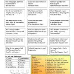 Let's Talk About Family Worksheet   Free Esl Printable Worksheets   Free Printable Esl Worksheets For High School
