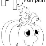 Letter P Is For Pumpkin Coloring Page | Free Printable Coloring Pages   Free Printable Pumpkin Coloring Pages