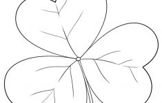 Letter S Is For Shamrock Coloring Page | Free Printable Coloring Pages – Free Printable Shamrocks