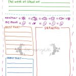 Letter To Grandma Printable Template Girl | Five Marigolds   Free Printable Letter Writing Templates