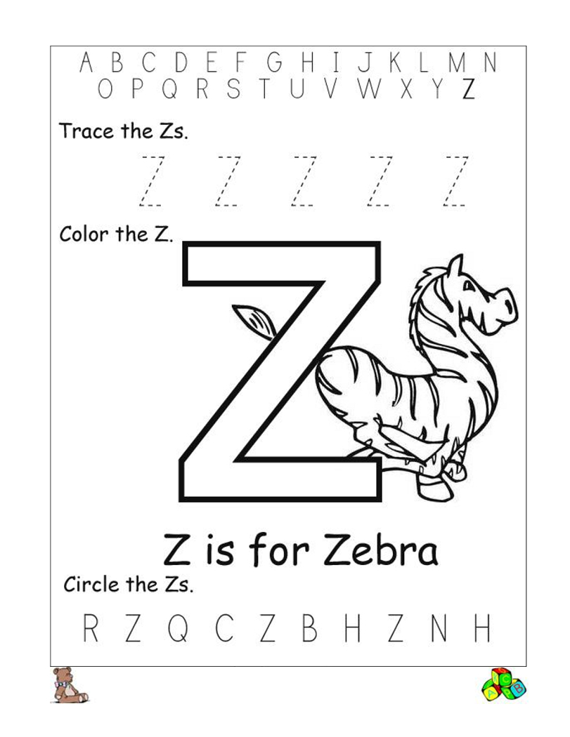 Letter Z Worksheets Printable   Reading // Sight Words   Pinterest - Letter Z Worksheets Free Printable