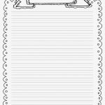 Lined Writing Paper With Borders : Custom Critical Essay Writing   Free Printable Writing Paper With Borders