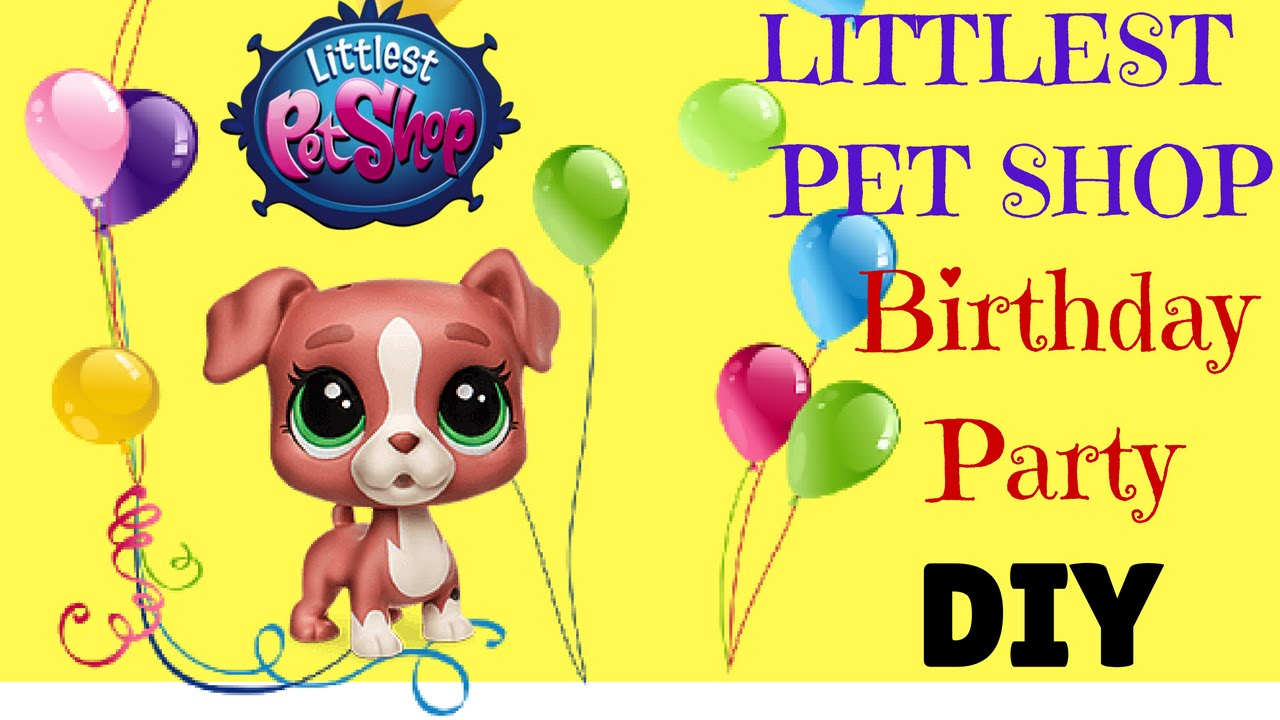 Littlest Pet Shop Birthday Party Diy With Printable Templates - Littlest Pet Shop Invitations Printable Free
