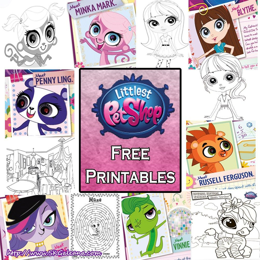 Littlest Pet Shop Free Printables, Coloring Pages And Activities - Littlest Pet Shop Invitations Printable Free