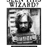 Looking For Harry Potter Sirius Black Wanted Poster | Rpf Costume   Free Printable Harry Potter Posters