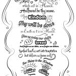 Lord's Prayer Doodle Coloring Page | Free Printable Coloring Pages   Free Printable Lord's Prayer Coloring Pages