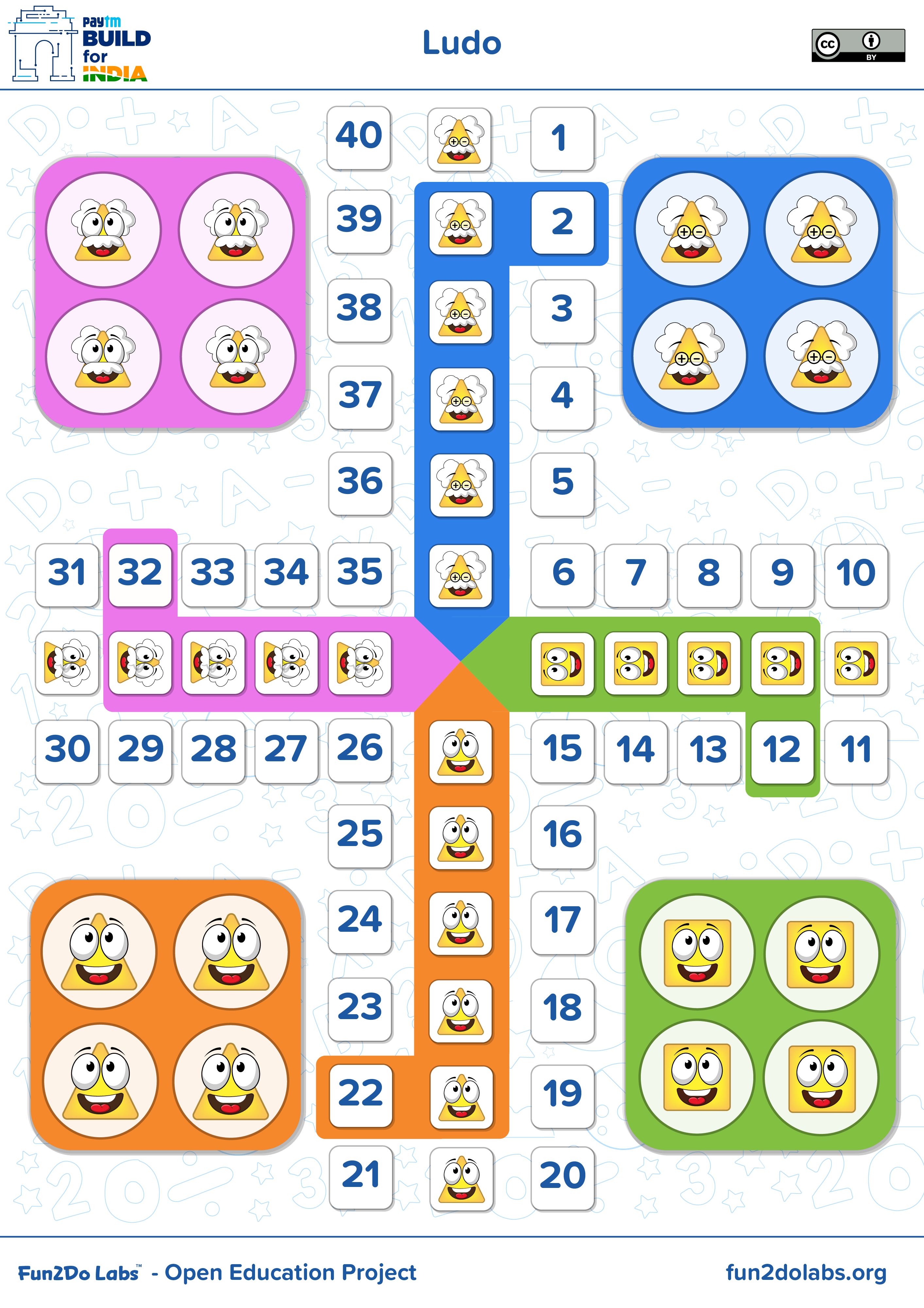 Ludo Printable, Ludo Board Game, Ludo Poster, Ludo Wala Game, Ludo - Free Printable Ludo Board
