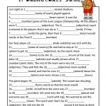 Mad Libs Basketball Game | Teaching Esl | Mad Libs, Basketball Games   Free Printable Mad Libs For Middle School Students