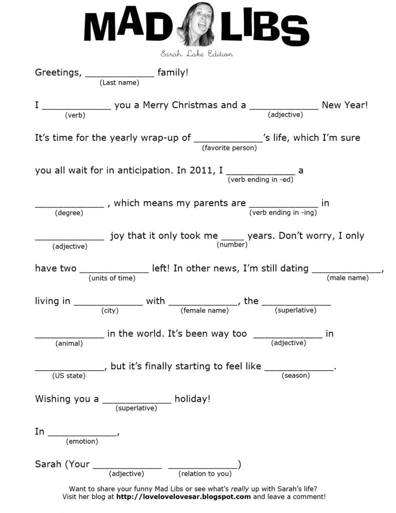 Mad Libs For Seniors Online Printable 4 - Bahamas Schools Within Mad - Mad Libs Online Printable Free